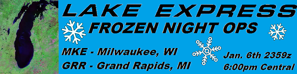 Lake Express FNO (Frozen Night Ops) Banner