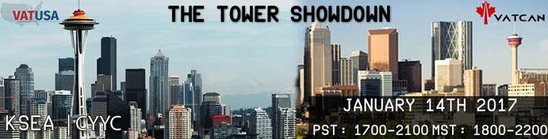 The Tower Showdown Banner