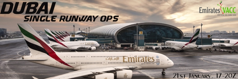Delta Virtual Airlines Online Event - Dubai - Single Runway Ops
