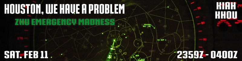 Houston, We Have A Problem Banner