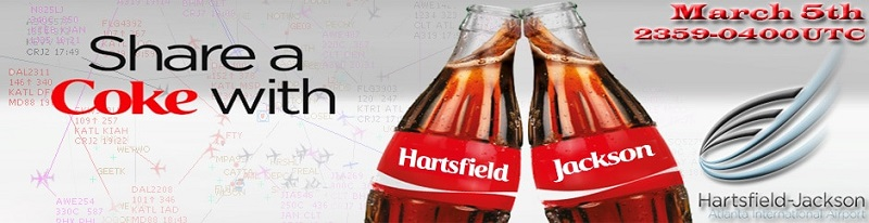 Share a Coke with Hartsfield-Jackson Banner