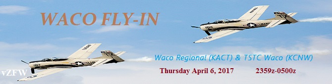 Waco Fly-In Banner