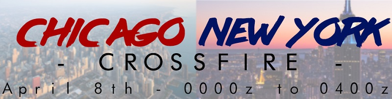 Chicago-New York Crossfire Banner