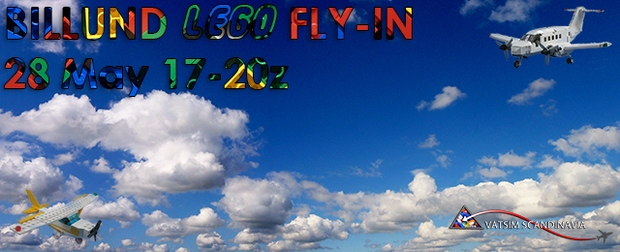 Billund Lego Fly-In Banner