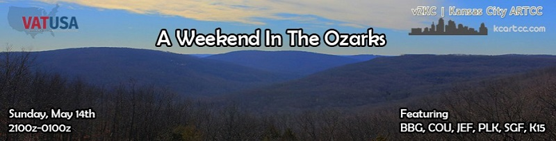 A Weekend in the Ozarks Banner