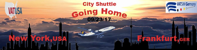 City Shuttle - Going Home Banner