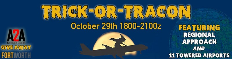Trick or Tracon Banner