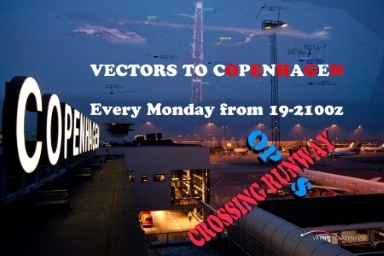 Vectors to Copenhagen - CROSSING RUNWAY OPS Banner