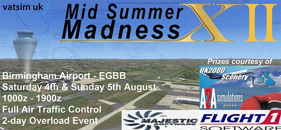 Mid Summer Madness! Banner
