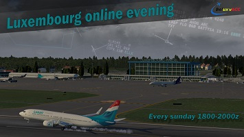 An Evening Online with Luxembourg Banner