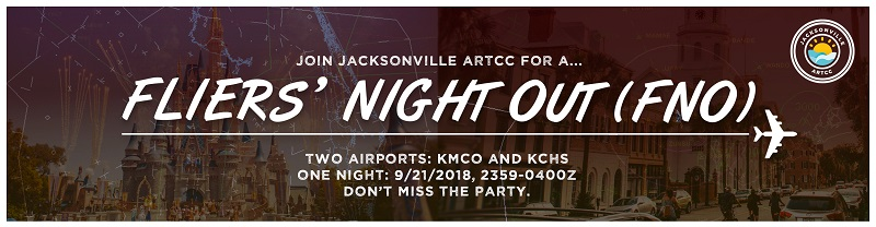 FNO: Fliers' Night Out: KMCO & KCHS Banner