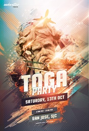 San Jose Toga Party Banner