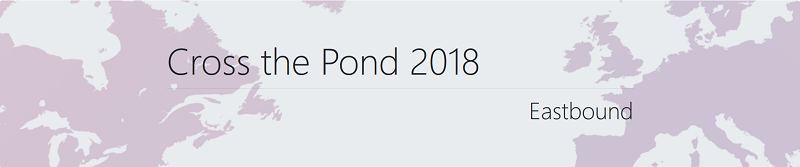 Cross The Pond Eastbound 2018 Banner