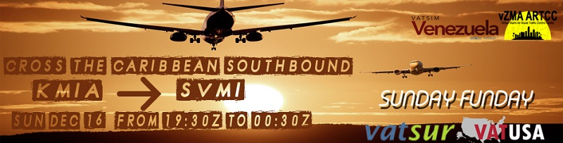 Cross the Caribbean South Bound Banner