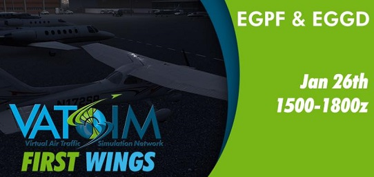First Wings by VATSIM Banner