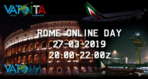 ROME ONLINE DAY Banner