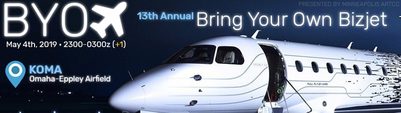 13th Annual Bring Your Own Bizjet Banner