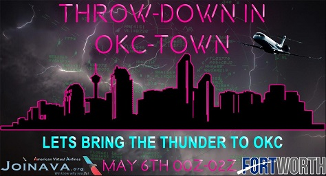 Throw-Down in Oke-Town Banner