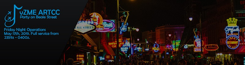 Party on Beale Street FNO Banner