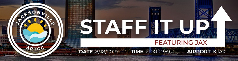 Staff it up Sunday feat. KJAX! Banner