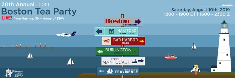 Boston Tea Party Live Banner