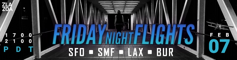 Friday Night Flights FNO Banner
