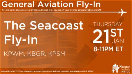The Seacoast Fly-In Banner
