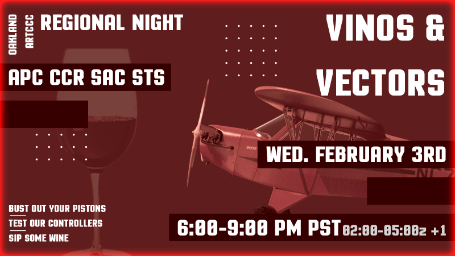 ZOA Regional Night: Vinos and Vectors Banner