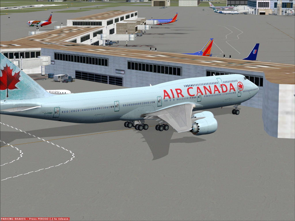 Delta Virtual Airlines Water Cooler - 747-8 AIR CANADA