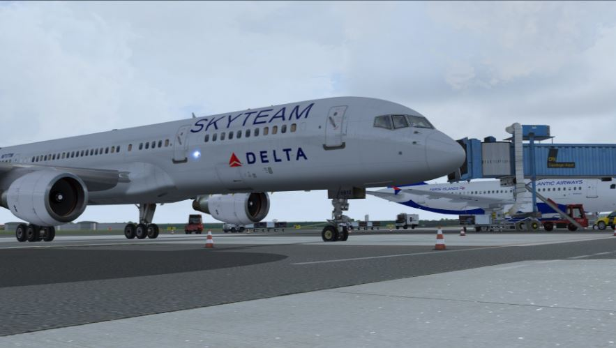 A few historical Delta 757 routes added...