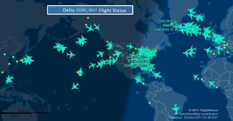Merry Christmas from Delta's world.