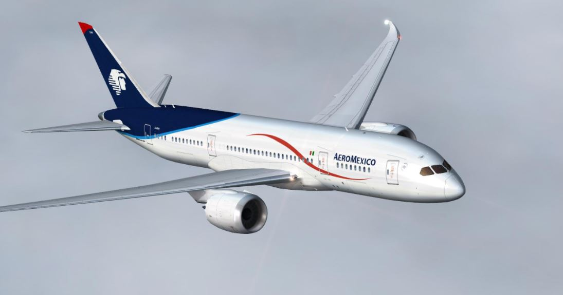 Aeromexico Historical Added to DVA schedule database, 1095x575 (44,445 bytes)