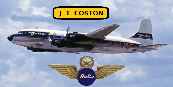 Senior Captain J.T. Coston adds the original round engines to his ticket!, 576x290 (59,837 bytes)