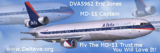 Delta Virtual Airlines Water Cooler - PMDG MD-11 at TNCM